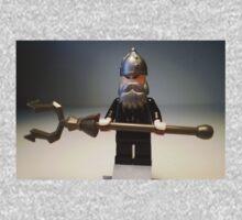 Mongolian Chinese Warrior Chief Custom Minifig Baby Tee