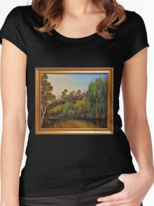 WEEPING WILLOW Women's Fitted Scoop T-Shirt