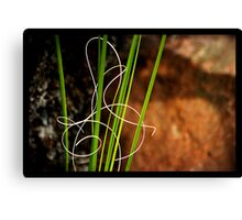 Signed With Love Canvas Print