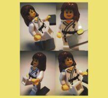 Judo Karate Martial Arts Girl Custom Minifigure  Kids Clothes