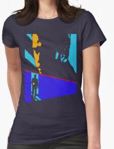 Manhunter Womens Fitted T-Shirt