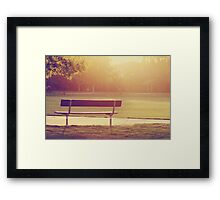light.  Framed Print