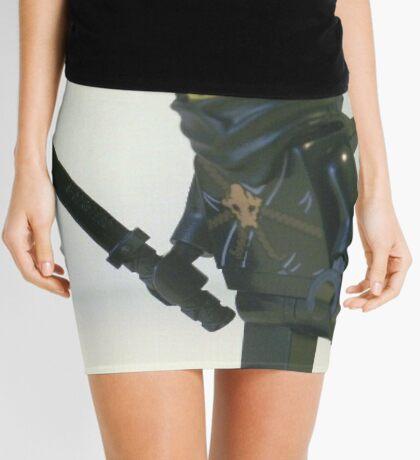 Black Ninja Custom Minifigure Mini Skirt