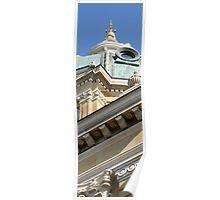 Des Moines, Iowa Capitol Building Poster
