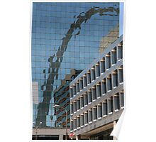 The Gateway Arch Reflected Poster