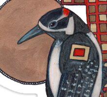 Deco Bird Tee Sticker