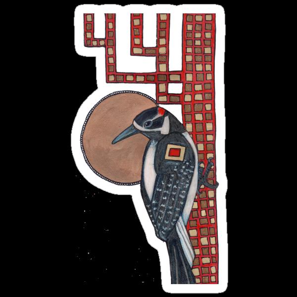 Deco Bird Tee by Lynnette Shelley