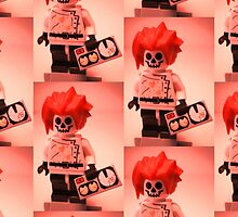 Professor Boom Custom Minifigure with Bomb by Customize My Minifig
