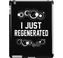 I just regenerated.  iPad Case/Skin