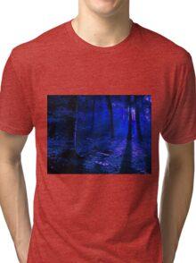Moonlit Forest Tri-blend T-Shirt