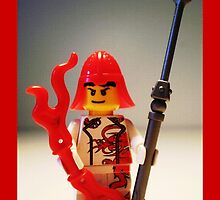 Ching Dynasty Chinese Dragon Warrior Custom Minifigure by Customize My Minifig