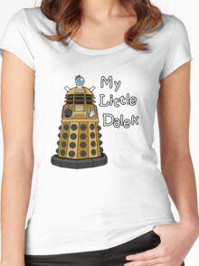 My Little Dalek Women's Fitted Scoop T-Shirt