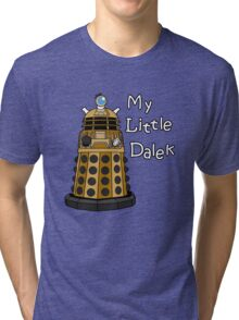 My Little Dalek Tri-blend T-Shirt