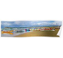 Ocean Grove '10 Carnival surf boats Poster