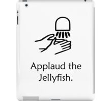Applaud the Jellyfish iPad Case/Skin