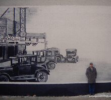 A mural of mine...Bill Ines by Billy Ines