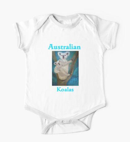 Australian Koalas One Piece - Short Sleeve