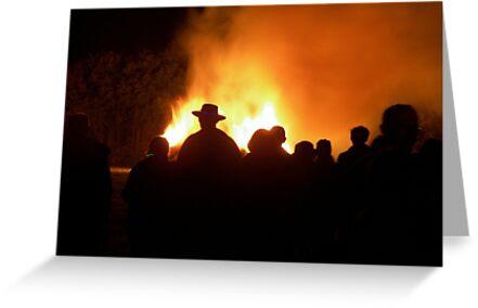 The Bonfire by ColinBoylett
