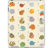 Animal Alphabet A-Z iPad Case/Skin