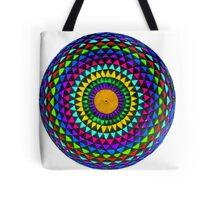 Multi-Colored Mandala Tote Bag