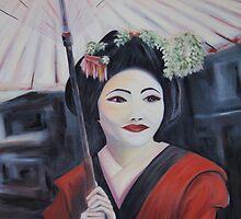 Geisha Dreaming - An elegant working girl by Jeni Maxwell