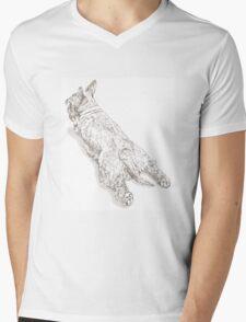 Flumpsie Sketch Mens V-Neck T-Shirt