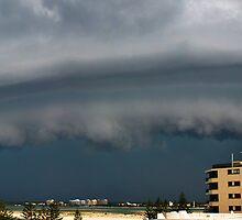 (Pano) Summer Storm - Bribie Island - Panorama by Barbara Burkhardt