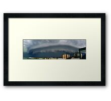 (Pano) Summer Storm - Bribie Island - Panorama Framed Print