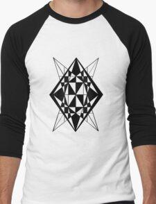Spliced Diamond Men's Baseball ¾ T-Shirt