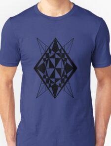 Spliced Diamond Unisex T-Shirt