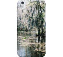 Lake Okeechobee Spanish Moss iPhone Case/Skin