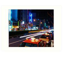 Hustle & Bustle - Tokyo Art Print