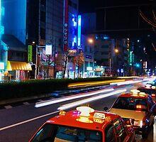 Hustle & Bustle - Tokyo by kaizy