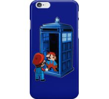 Mario x Doctor Who iPhone Case/Skin