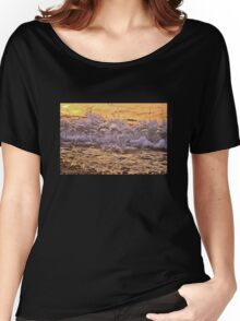 Sunset in the Waves Women's Relaxed Fit T-Shirt