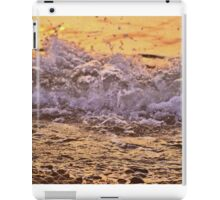 Sunset in the Waves iPad Case/Skin