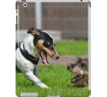 Dogs playing iPad Case/Skin