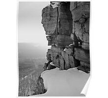 Devil's Lake - Winter View Poster