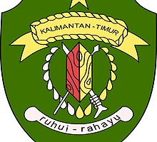 Coat of Arms of East Kalimantan by abbeyz71