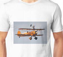 Boeing Stearman Biplane - Wingwalkers  Unisex T-Shirt