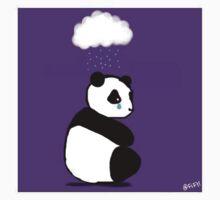 Sad panda One Piece - Long Sleeve
