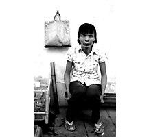 """Grabbed by a Stranger"" - Hanoi, Vietnam Photographic Print"