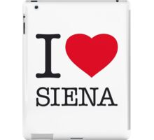 I ♥ SIENA iPad Case/Skin