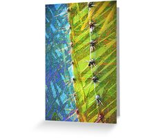 Cactus Poetry Greeting Card