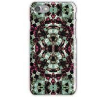 Geometric Abstract Grunge Pattern iPhone Case/Skin