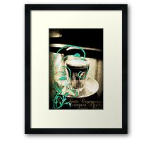 passing the time  Framed Print