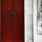 """What's Behind That Red Door"" - Hanoi, Vietnam by Tamazical"