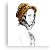 Coloured Hat Canvas Print