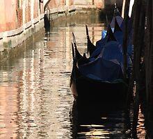 Gondola Waiting  by Emma Holmes
