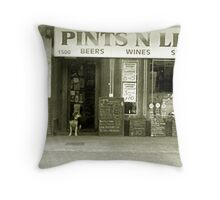 Pints 'N' Litres Throw Pillow